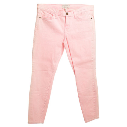 Current Elliott Jeans in Neon-Pink