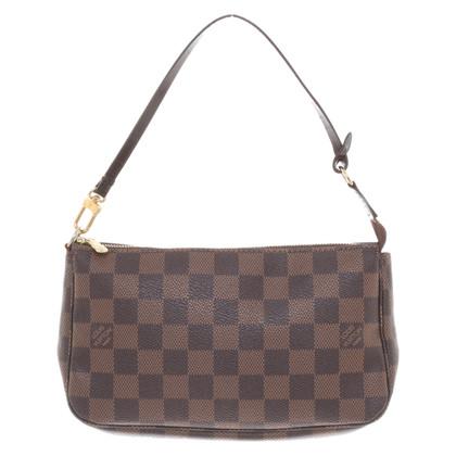 "Louis Vuitton ""Pochette accessories Damier Ebene Canvas"""