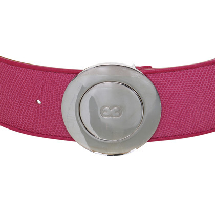 Escada Belt with logo buckle