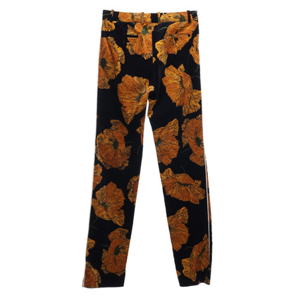 Gucci trousers with a floral pattern