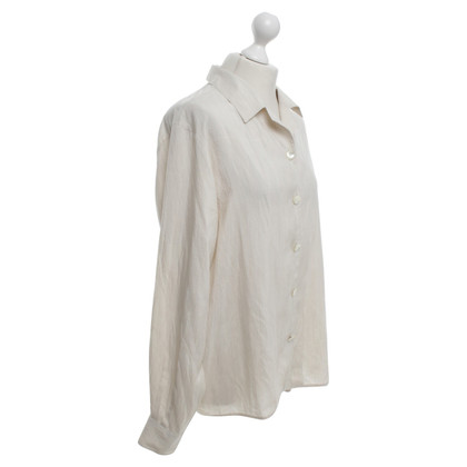 Max Mara Silk blouse in beige