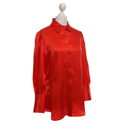 Just Cavalli Seidenbluse in Rot