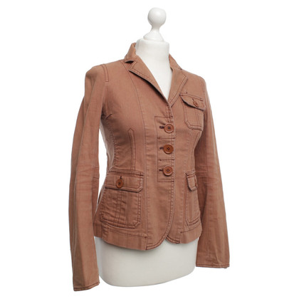 Marc Jacobs Jeans Blazer in Brown