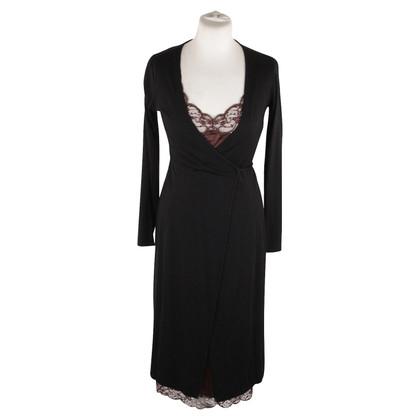 Dolce & Gabbana Wickelkleid und Mantel