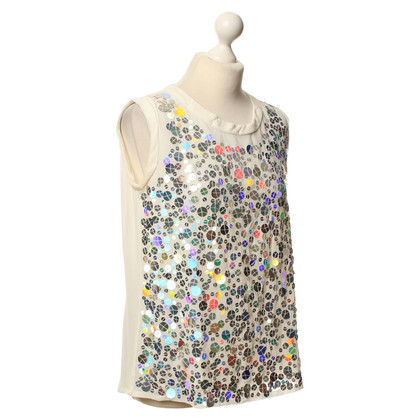 Marc Cain Top con paillettes