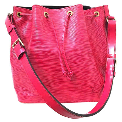 "Louis Vuitton ""Petit Noé EPI leather"" in red"