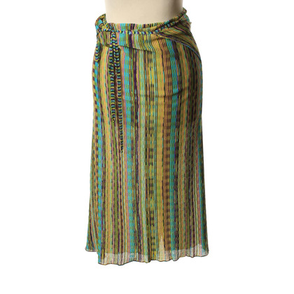 Missoni Wrap-around rok met gestreepte patroon