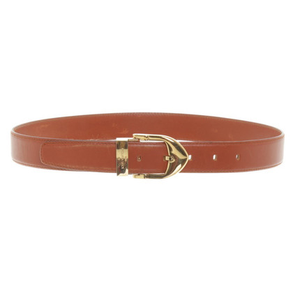 Louis Vuitton Belt in Cognac Brown