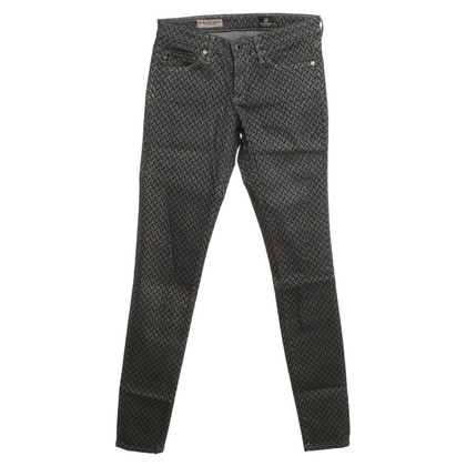 Adriano Goldschmied Jeans in Blau mit Muster