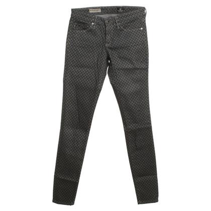 Adriano Goldschmied Jeans in blu con motivo