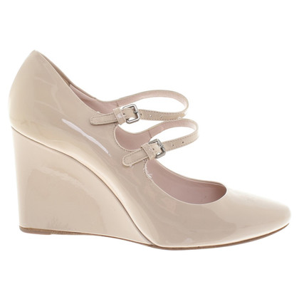 Miu Miu Wedges in beige