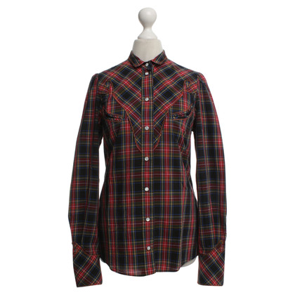 Dolce & Gabbana Blouse with check pattern
