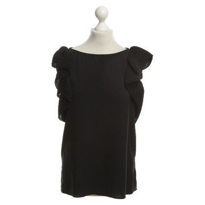 Claudie Pierlot Bluse in Schwarz