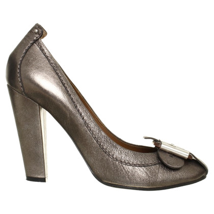 Chloé Silver colored pumps