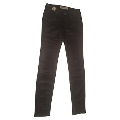 Drykorn Skinny Jeans mit Glanzeffekt
