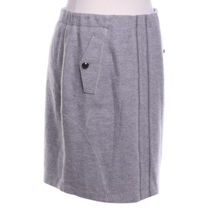 Marc Cain Wool skirt in grey