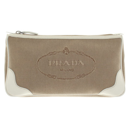 Prada clutch in bicolour