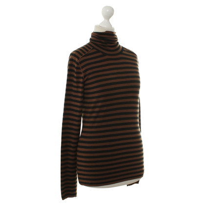 Akris Striped Turtleneck