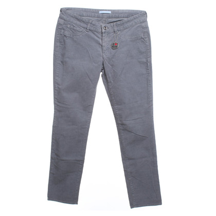 Strenesse Blue Corduroy trousers in grey