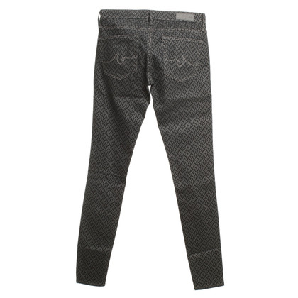 Adriano Goldschmied Jeans in Blue with Pattern