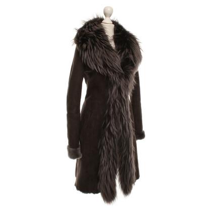 Andere merken Sly 010 - schapenvacht jas met bont