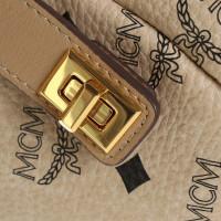 MCM Backpack in beige