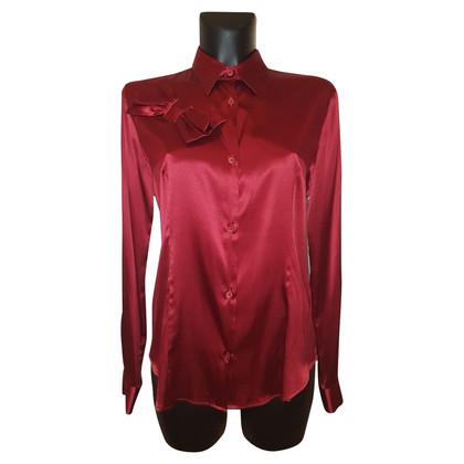 Moschino Love Extravagante zijden blouse