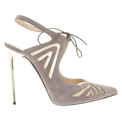René Caovilla pumps in Nude