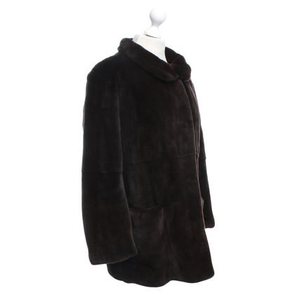 Andere Marke Voigt Style - Pelz-Mantel in Braun