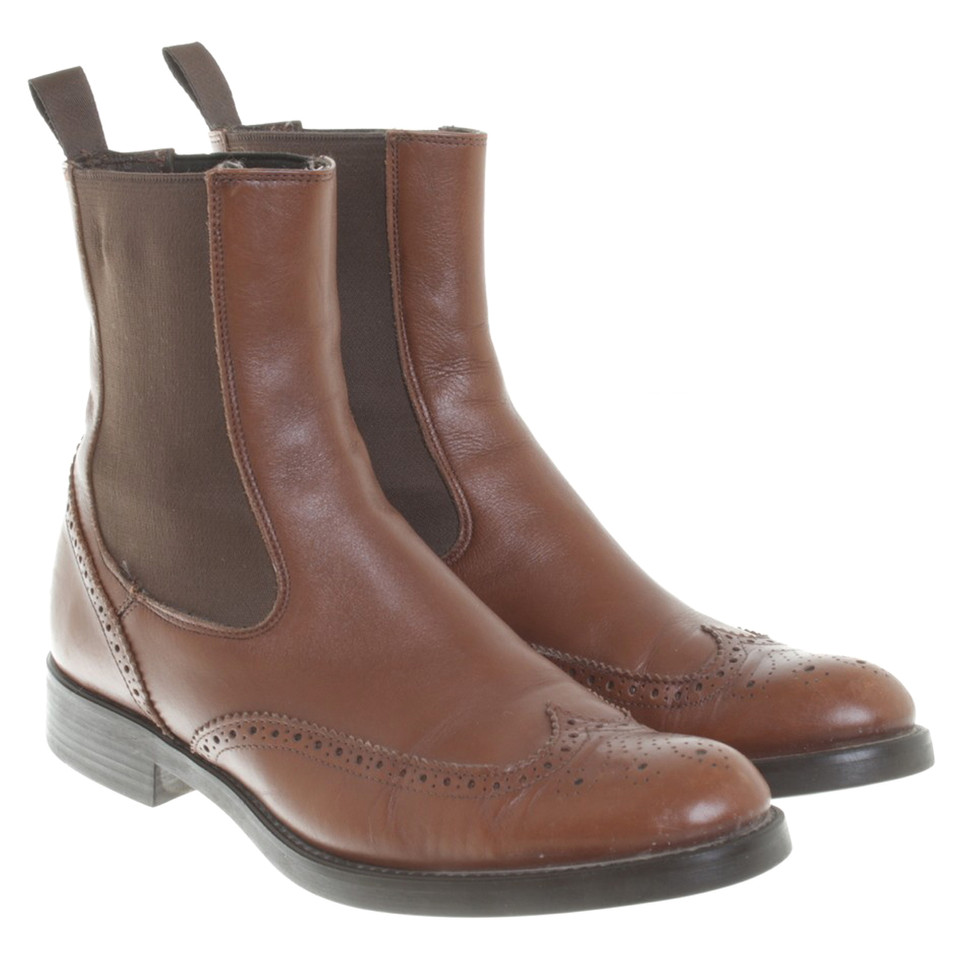 Pollini Leather boots