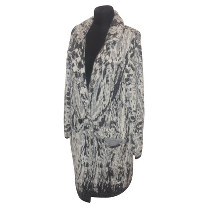 Lala Berlin Manteau tricoté avec motif