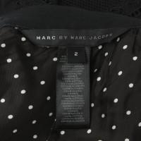 Marc by Marc Jacobs Tweedelige jurk met geborduurde gaten