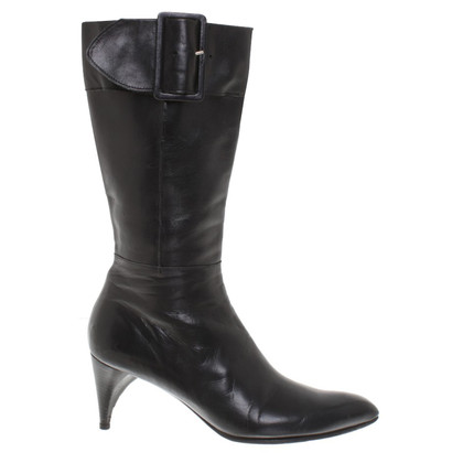 Costume National Stiefel aus Leder