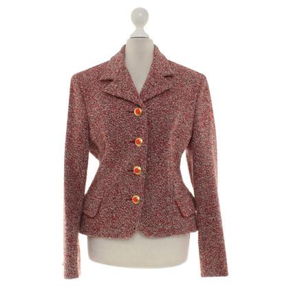 Versace giacca di tweed in Multicolor