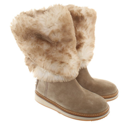 Car Shoe Boots with fur