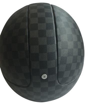 Louis Vuitton casco moto Damier Graphite Canvas