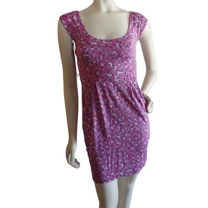 Diane von Furstenberg Jersey jurk met patroon