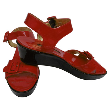 Walter Steiger Patent leather sandals