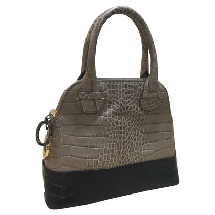 Paule Ka Snake leather handbag