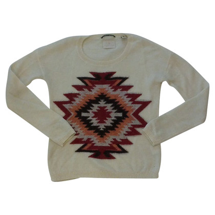Maison Scotch Ethno pattern knit pullover