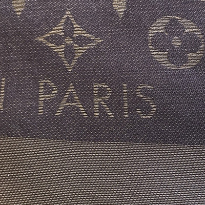 Louis Vuitton Panno lustro Monogram in Brown / oro
