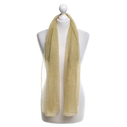 La Perla Tissu en or