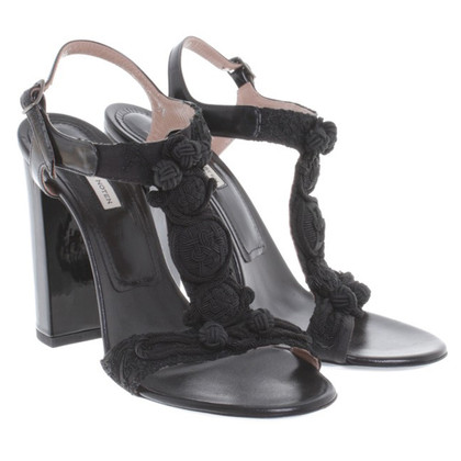 Dries van Noten Sandals in black