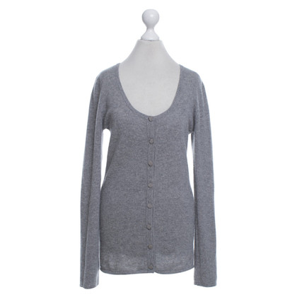 Dear Cashmere Cashmere jacket in grey