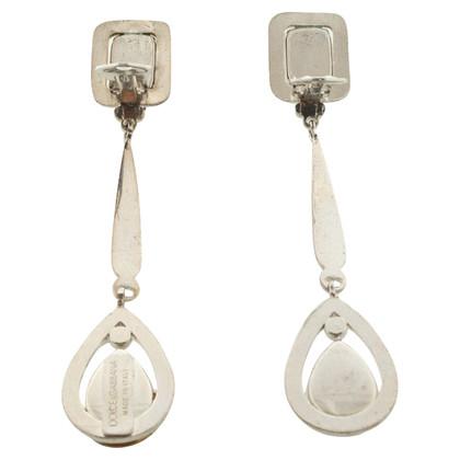 Dolce & Gabbana Clip auricolare con strass