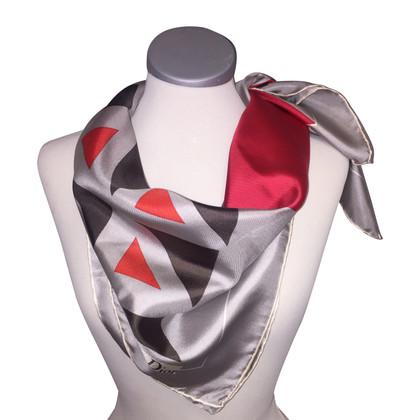 Christian Dior Zijden sjaal met print