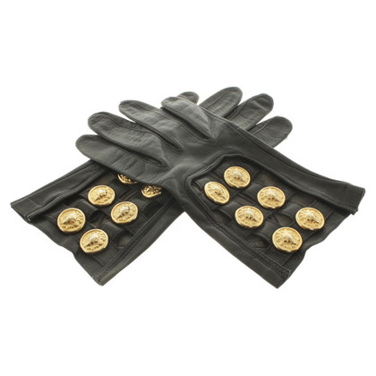 Other Designer Roeckl - leather gloves with cut-outs