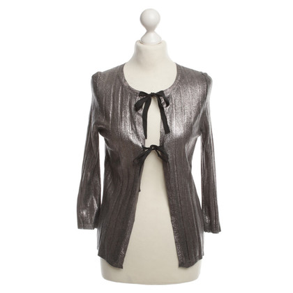 Jil Sander Cardigan color argento