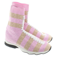 Fendi Sneakers with elastic upper