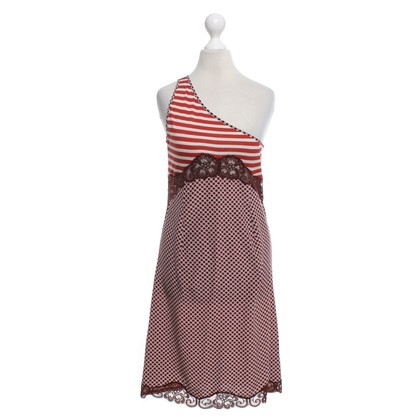 Stella McCartney One-shoulder dress with pattern